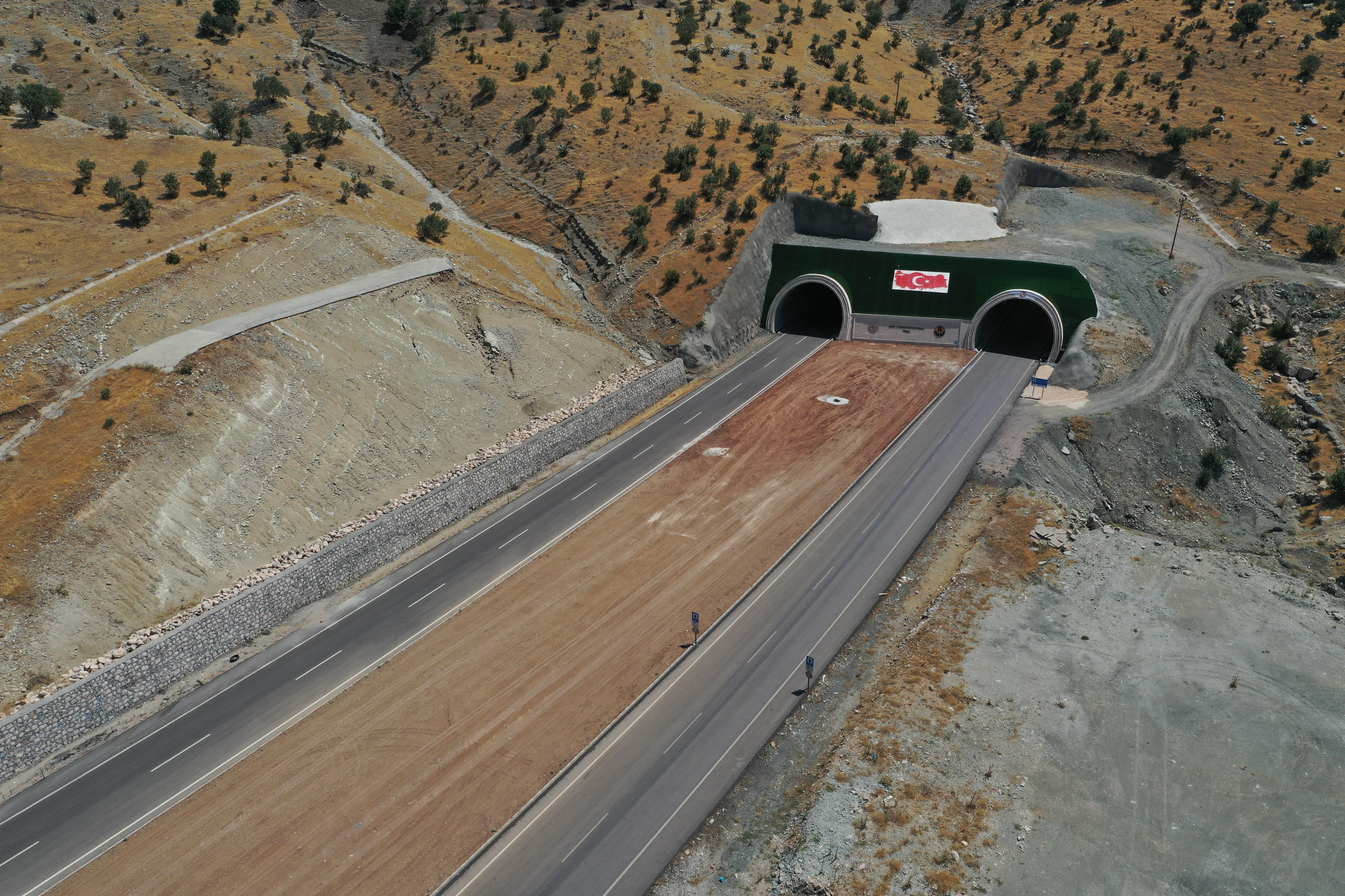 Cudi Dağı Tünelleri ve Viyadüğü